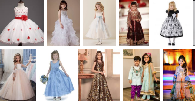 19 of The Cutest, Most Fashionable Kids at Weddings Dresses
