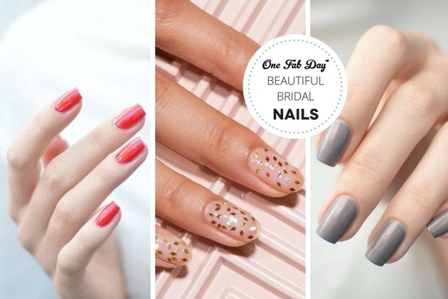 Beautiful Bridal Nail Looks 2020