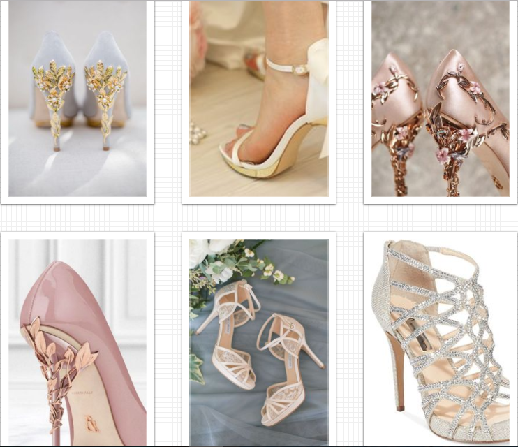 Most Popular Wedding Shoes Ever 2020