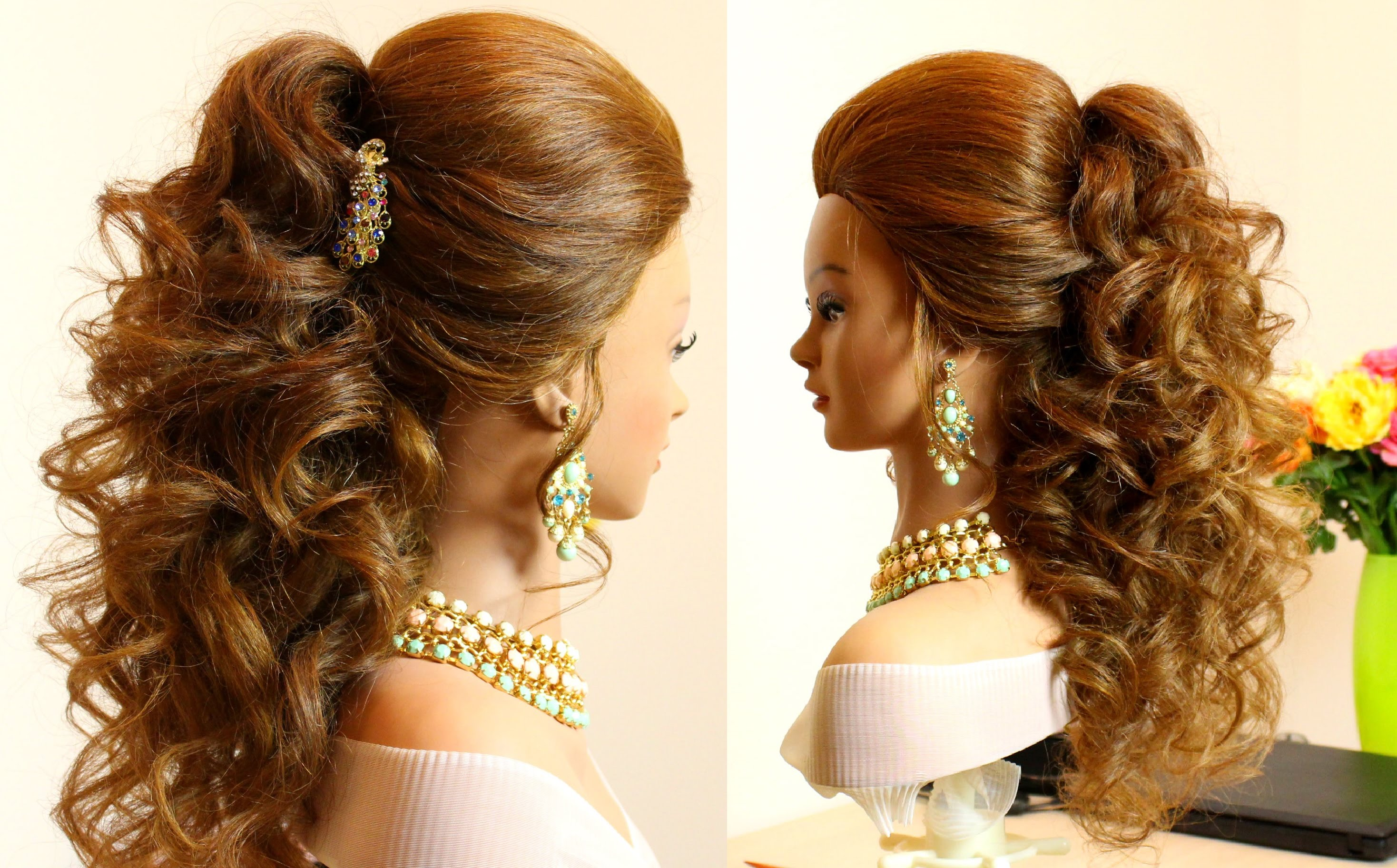21 Amazing Styles That You Can Do With Your Long Curly