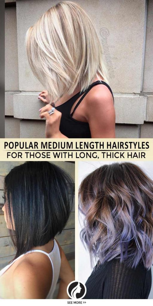 43 Superb Medium Length Hairstyles For An Amazing Look My Stylish Zoo
