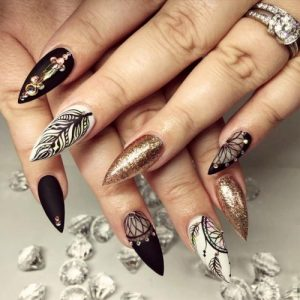 33 Ideas With Dream Catcher Nail Art My Stylish Zoo