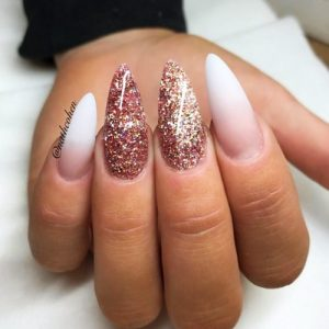 27 Breathtaking Designs For Almond Shaped Nails My Stylish Zoo