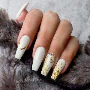 White Nails Are Something You Should Try At Least Once In Your Life Can Either Keep Them Plain Or Decorate With Some Intricate Pattern
