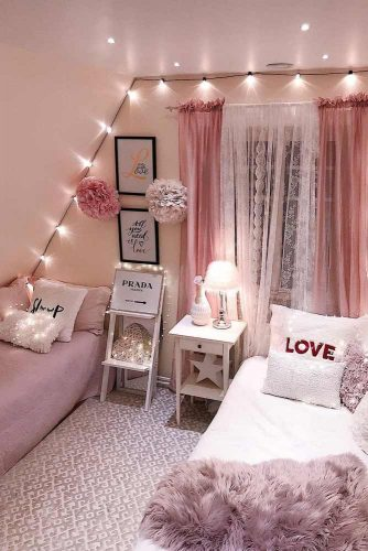 Teen Bedroom Themes List Is Really Huge, And The Glam Theme Is At The Top  Of The Most Popular And Cool Themes. If Your Girl Is Really Into Glam, Go  For It!