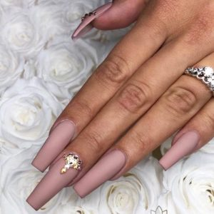 Ballerina Nails Matte Look Extraordinarily Elegant Starting From 2009 Manicure Becomes More And Por Back Then Nail Lacquer Houses