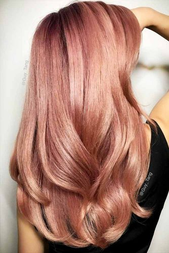 27 Breathtaking Rose Gold Hair Ideas You Will Fall In Love With