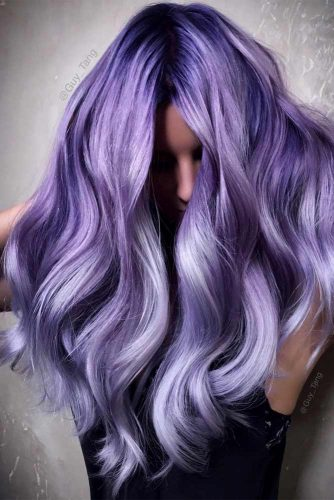 40 Purple Hair Styles That Will Make You Believe In Magic My