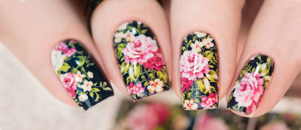 33 SUPER PRETTY FLOWER NAIL DESIGNS TO COPY