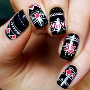 27 Trendy Black Nails Designs For Dark Colors Lovers My Stylish Zoo