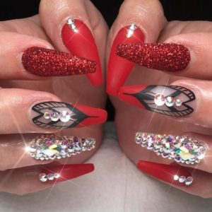 30 Chic Red Nail Designs To Say I M Hot My Stylish Zoo