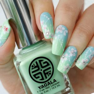 Just look at these trendy nail art ideas with flowers, aren't they super lovely? Use these nail designs to fit, mix, or contrast with any outfit or ...