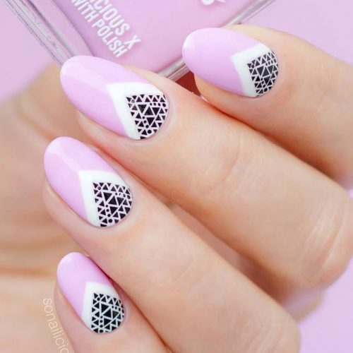 18 Cute Designs For Oval Nails To Rock Anywhere My Stylish Zoo