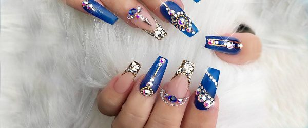 24 BEAUTIFUL COFFIN NAIL DESIGNS IDEAS