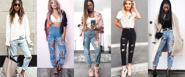 27 COOL WAYS OF WEARING BOYFRIEND JEANS