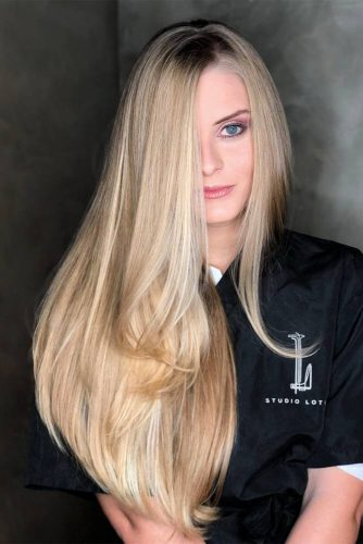 18 Cool And Trendy Ways Of Rocking Straight Hair My Stylish Zoo