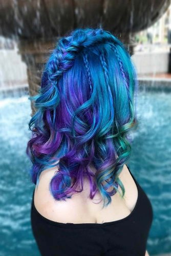 18 Blue And Purple Hair Looks That Will Amaze You My Stylish Zoo