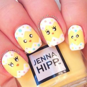 36 inspiring easter nails designs 2018  my stylish zoo