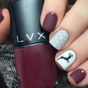 42 Perfect Winter Nails For The Holiday Season And More My Stylish Zoo