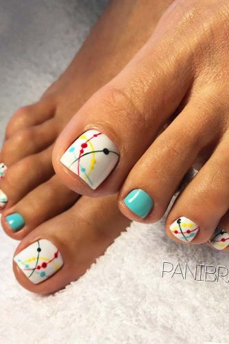27 TOE NAIL DESIGNS TO KEEP UP WITH TRENDS \u2013 My Stylish Zoo
