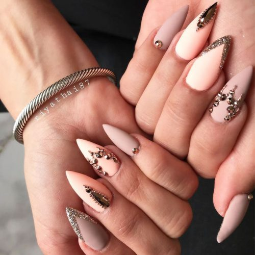 34 STUNNING DESIGNS FOR STILETTO NAILS FOR A DARING NEW LOOK – My ...