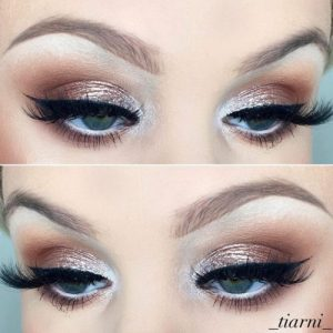 If you really love a smokey eye look, here's our tip: opt for more neutral shades and, quite importantly, stay away from black. Also, try not to overshadow ...
