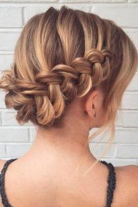 33 Amazing Prom Hairstyles For Short Hair 2018 My Stylish Zoo