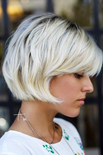 18 Layered Bob Hairstyles For Extra Volume And Dimension My