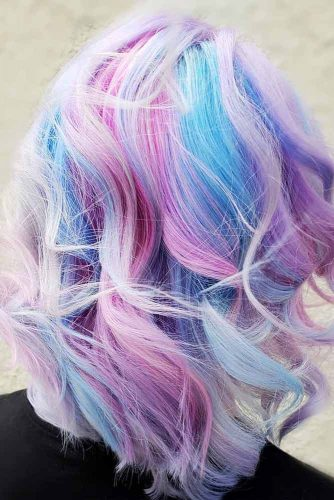18 Blue And Purple Hair Looks That Will Amaze You My