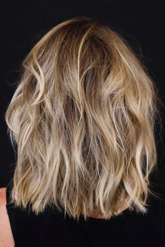 Layered Long Bob Hairstyles For Thick Hair 43