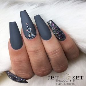 24 beautiful coffin nail designs ideas  my stylish zoo