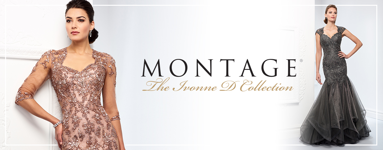 Montage Ivonne D Collection of Beautiful Bridal Dresses