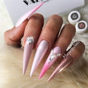 30 pointy nails designs you can't resist to copy  my