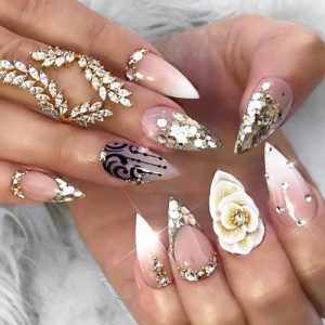 30 Pointy Nails Designs You Cant Resist To Copy My Stylish Zoo