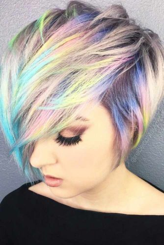 21 Bold And Beautiful Ombre Short Hair Styles For A Brave New Look My Stylish Zoo