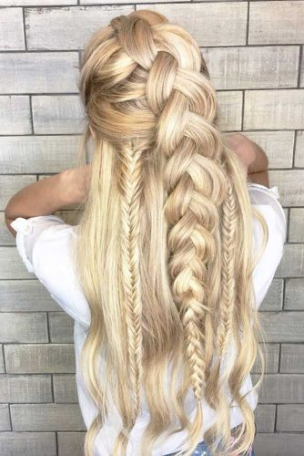 15 Romantic Braided Hairstyles For Valentine S Day My Stylish Zoo
