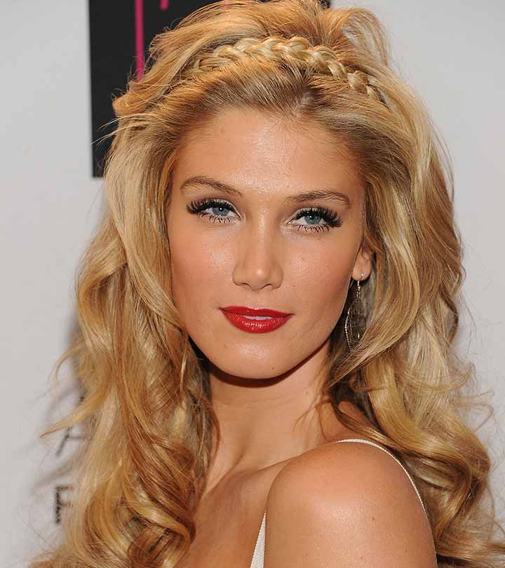 9 Beautiful Updos For Long Curly Hair