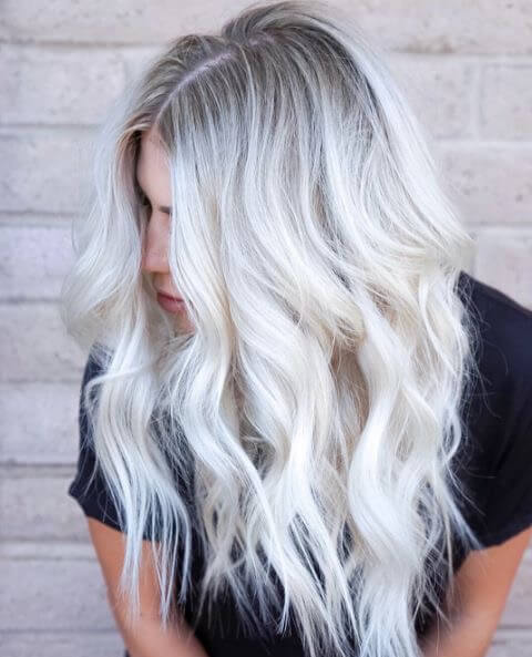 40 Beautiful Styles to Elevate Your Platinum Blonde Hair ...Light Ash Blonde Hair
