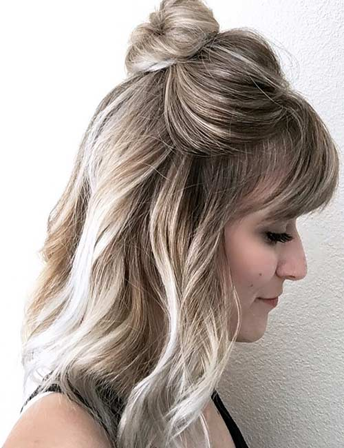 19 Incredible Medium Length Hairstyles With Bangs