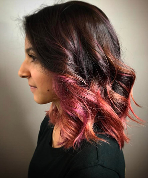 19 Rose Gold Hair Color Ideas Trending In 2018 My Stylish Zoo