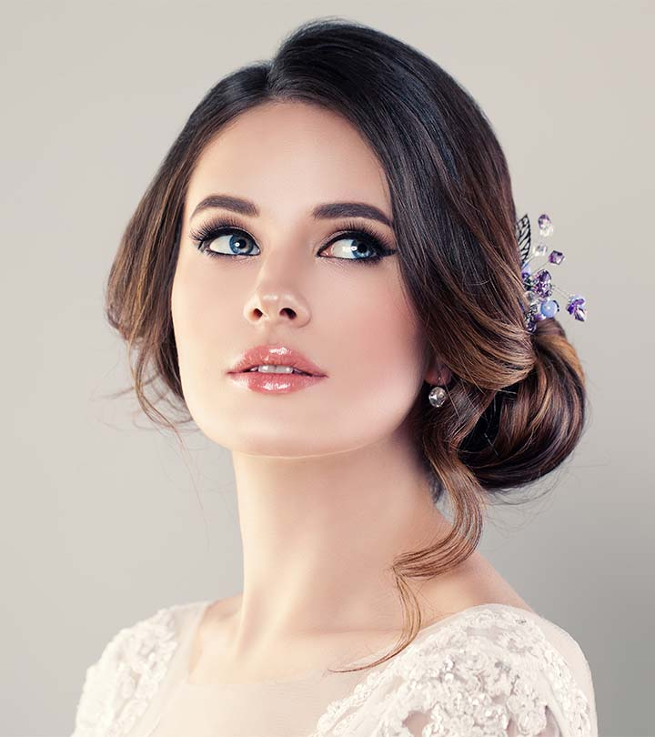Wedding Makeup Hair Style: 19 Popular Prom Hairstyles For Girls With Medium Length