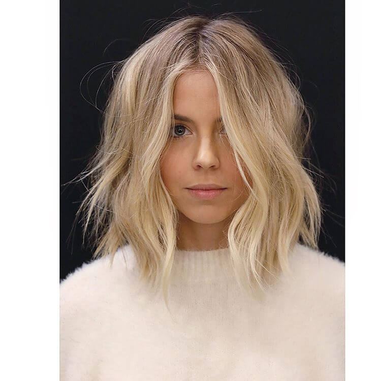 47 Pretty Chic Medium Lenght Hairstyles To Get The Most Fashionable