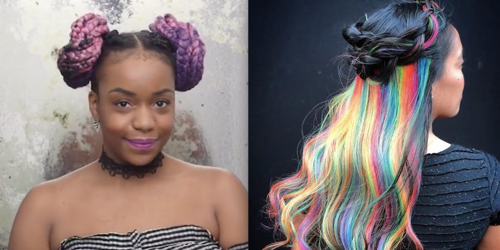 9 Creative Festival Hairstyles That'll Stun All Your Summer Selfies