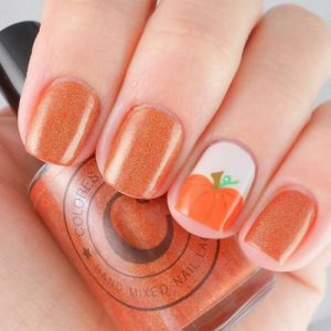 24 Cute Autumn Nail Designs Youll Want To Try My Stylish Zoo