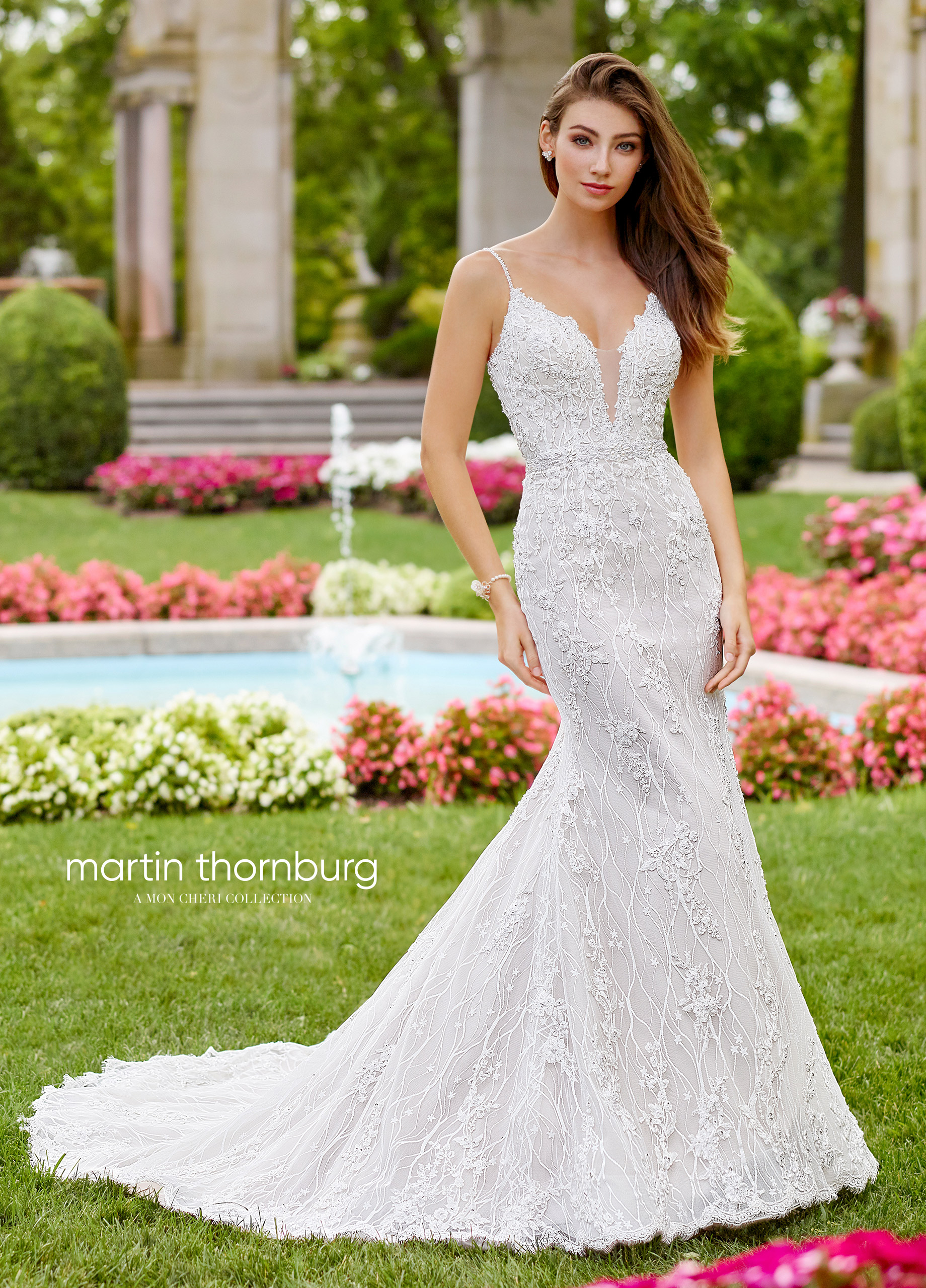 Cute Martin Thornburg Bridal Dresses 2020