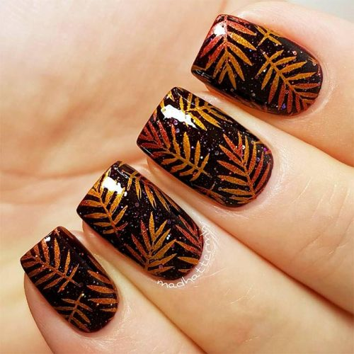 Fall Nail Art: 45 MUST TRY FALL NAIL DESIGNS AND IDEAS