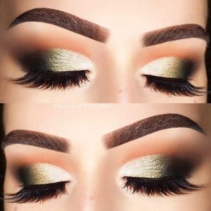 In such case, you'll manage to create a crease where there isn't a natural one. You could also use medium-toned eyeshadow for hooded brown eyes to make ...