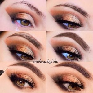 21 cool makeup looks for hazel eyes and a tutorial for