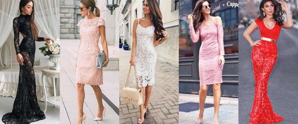 WHICH LACE DRESS TO WEAR ON VALENTINES DAY?
