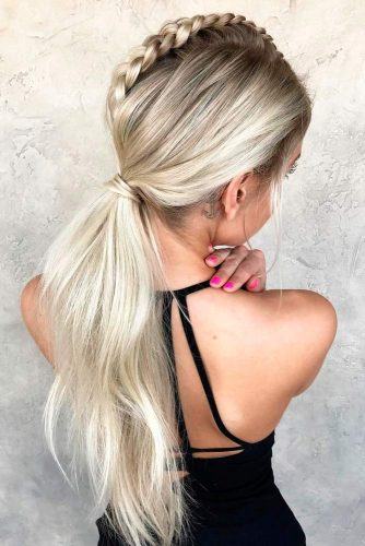 c056697ac8883 36 BEST SPORTY PONYTAIL HAIRSTYLES FOR YOUR WORKOUT ROUTINE – My ...